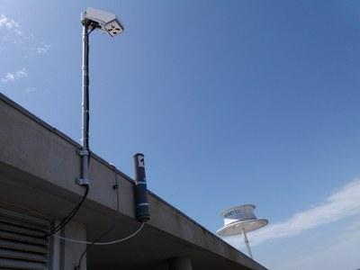 Sensor de deteção de descargas elétricas instalado no INESC TEC