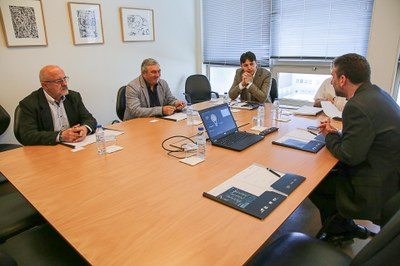 Universidade romena visita o INESC TEC