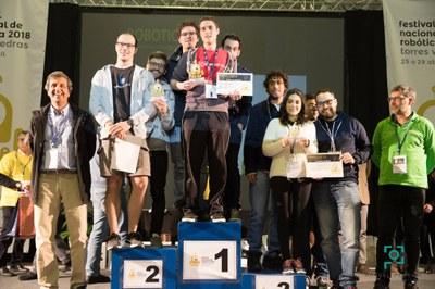 Robótica do INESC TEC vence duas competições em Festival Nacional