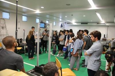 Laboratórios do INESC TEC abrem as portas aos novos estudantes da FEUP