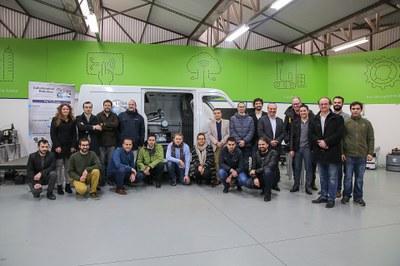 Robô desenvolvido para indústria automóvel testado com sucesso