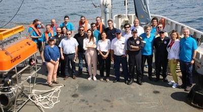 Terminou projeto que fez avançar a exploração do fundo do mar de forma contínua